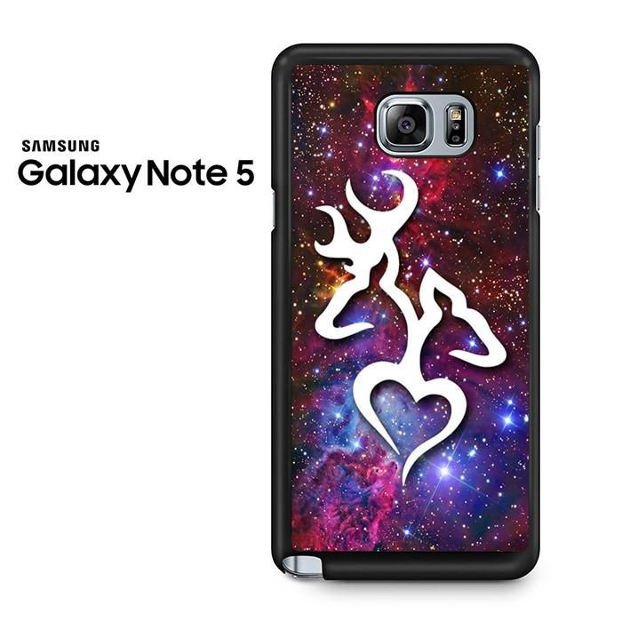 Browning Deer Love Galaxy Nebula Samsung Galaxy Note 5 Case