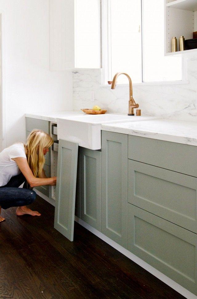 Semihandmade Kitchen Cabinets @kelly013 doors for ikea cabinets