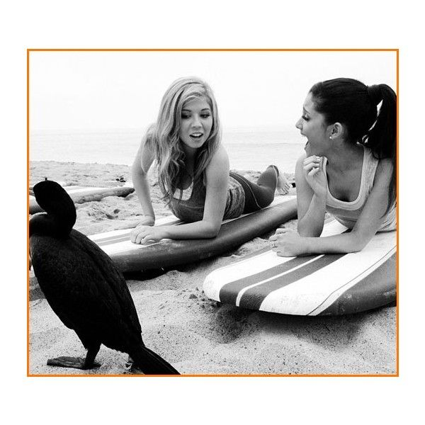 Nickelodeon Stars / Jennette McCurdy And Ariana Grande Film Promos For... via Polyvore