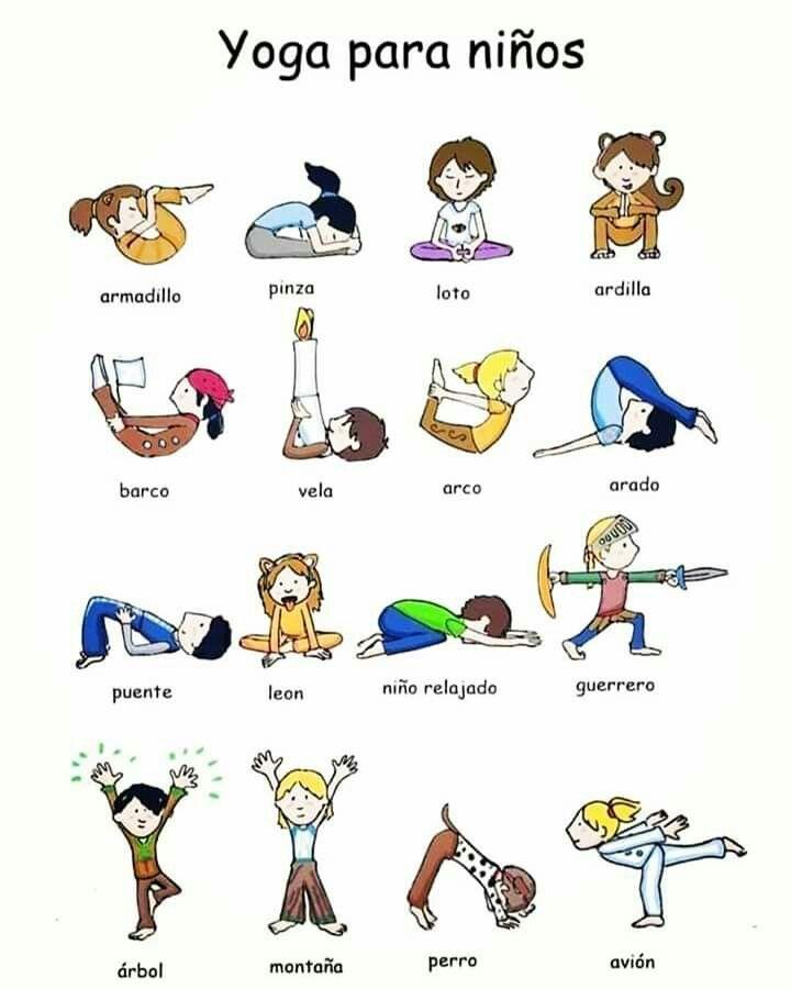 Pin De Gimena Gonzalez En Actividades 2 A 3 Años Chico Yoga Yoga Para Niños Posturas De Yoga Para Niños