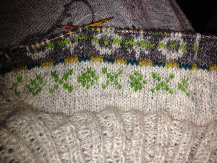 Starting on my next Lerwick project - this time a cardigan.