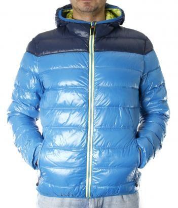Pánská zimní bunda - Brekka - BLOCK DOWN JACKET MAN - RYL - WAKA on-line móda. Brekka, italské oblečení pro volný čas.
