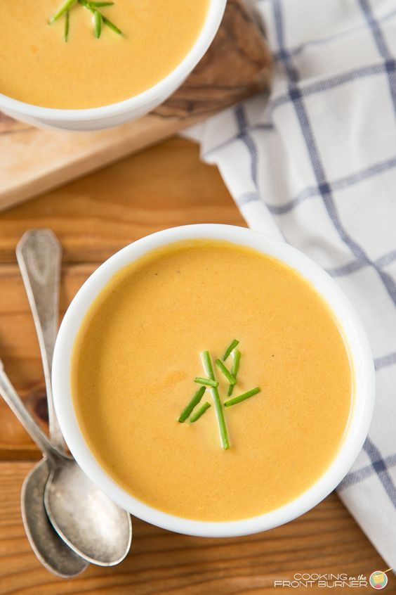 You will love how easy this carrot and ginger soup recipe is! Wonderful flavor, creamy texture and did I mention easy (again)!!!