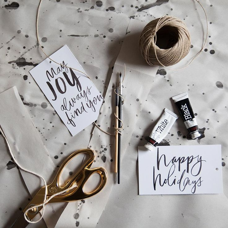 Do-it-Yourself   Watercolor Gift Wrap / Get started on liberating your interior design at Decoraid (decoraid.com)