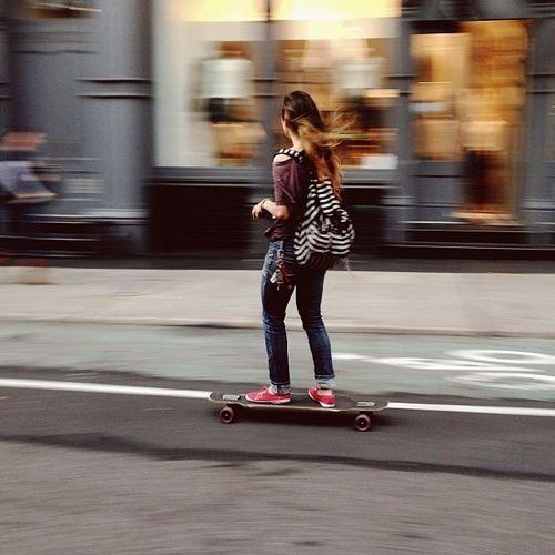 :: Skate Girl :: #skateboarding #sk8 #girl