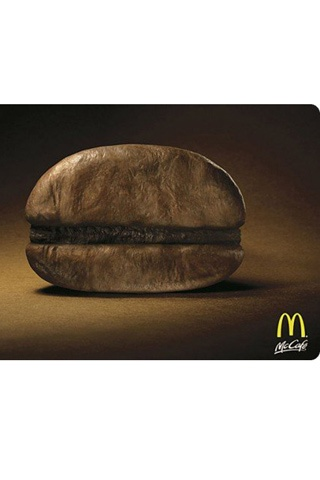 Minimalist advertising