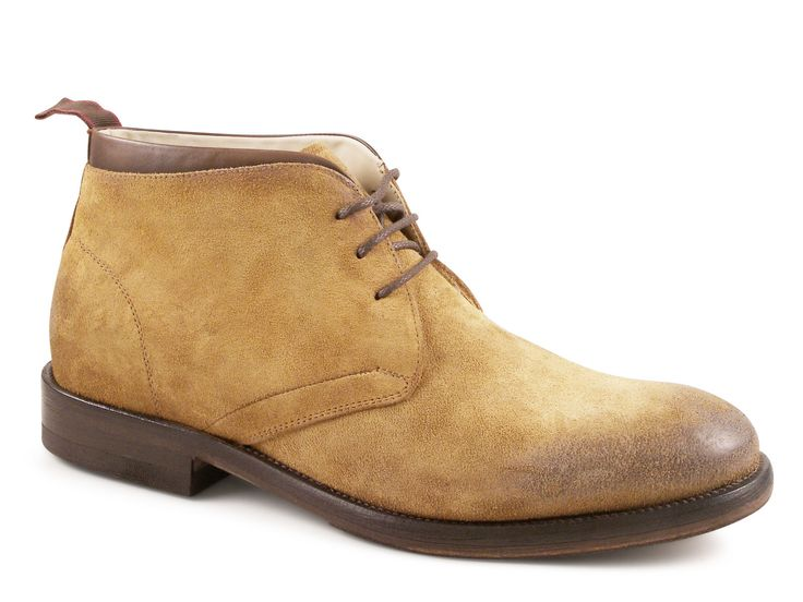 Smith's American ankle boots tobacco suede leather - Italian Boutique €182