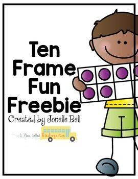 Ten Frame Fun Freebie