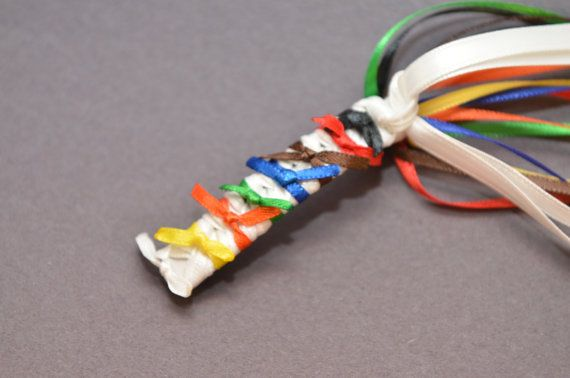 Customize Karate Belt Barrette white yellow orange green blue brown red black tae kwon do judo on Etsy, $5.00