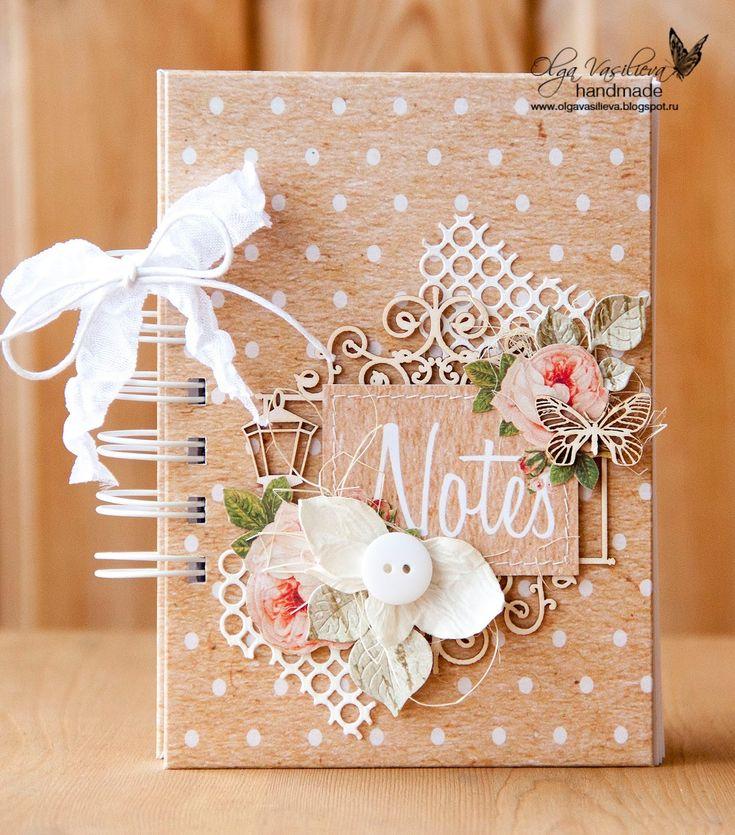 Craftlove Notebook by Olga Mais
