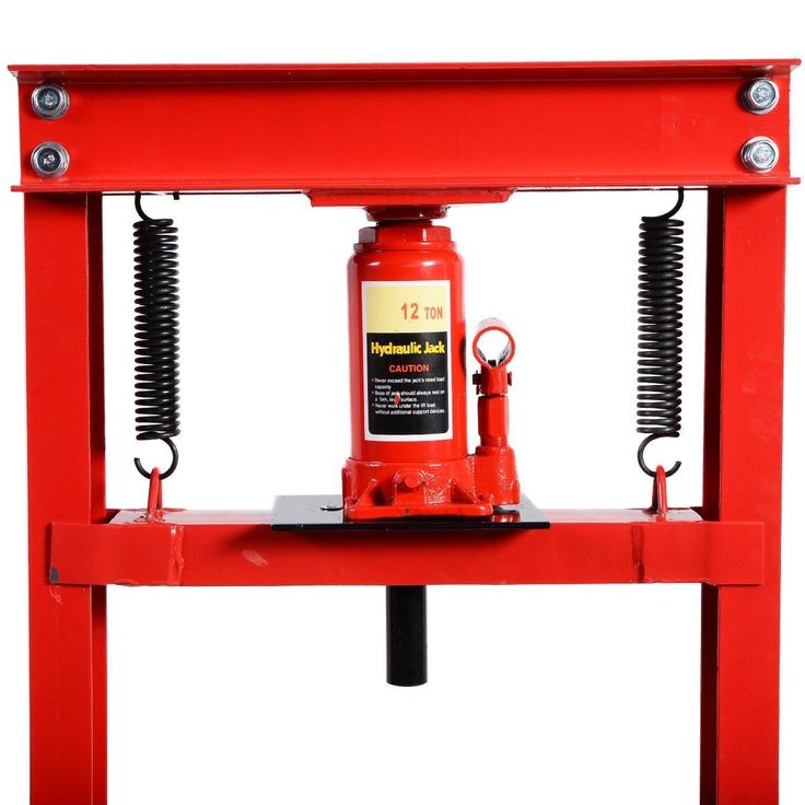 12 Ton HFrame Shop Press Hydraulic Jack Stand