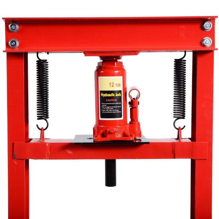 12 Ton HFrame Shop Press Hydraulic Jack Stand