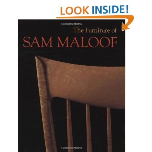 The Furniture of Sam Maloof: Jeremy Adamson Sam Maloof (1916–) is a consummate furniture designer and maker, recognized worldwide as a craftsperson's craftsman. Set in the context of the development of Southern California modernism and the contemporary American craft movement, this volume offers the first thorough look at Maloof's extraordinary life and work, providing insights into the materials and techniques of woodworking, as well as the artisan lifestyle.Maloof Furniture, Sam Maloof, Exquisite Design, Maloof Book, Adamson Sam, Exquisite Craftsmanship, Kozai Bookcas, Sam Meloof, Legacy Continuous