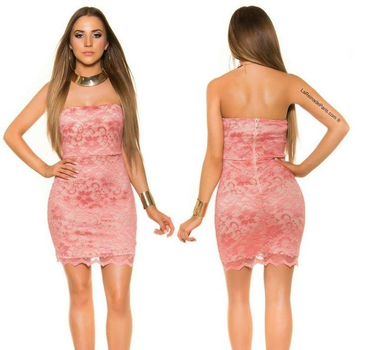 Mejores 43 imágenes de Vestidos con encaje en Pinterest | Vestidos ...