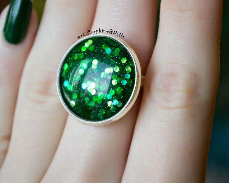 mrs. Morphine & nails: Handmade кольца для лаковых фей :)