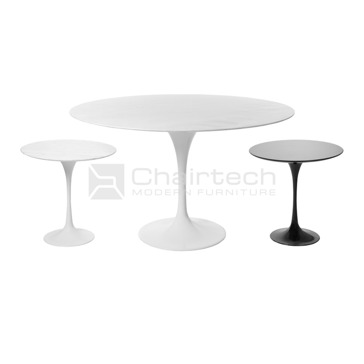 Tulip Round Table & Side Tables