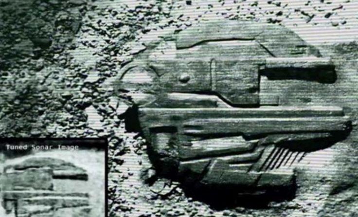 Baltık Denizi'nde keşfedilen yapı, dünya dışı bir uzay gemisi mi?