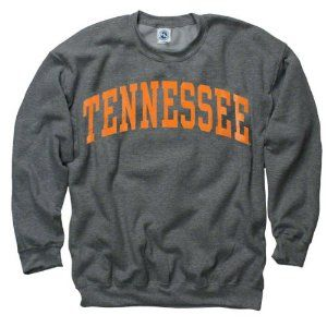 Tennessee Volunteers Dark Heather Arch Crewneck Sweatshirt.  yep, bought it.