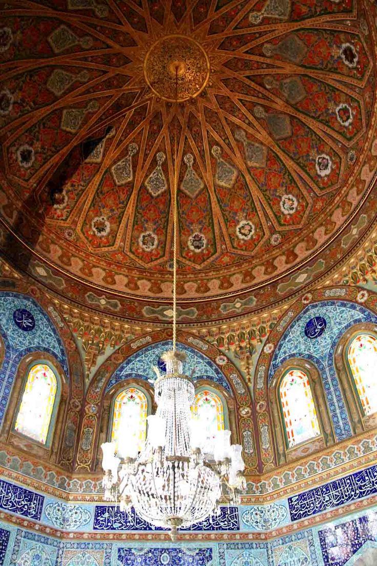 The mausoleum of Sultan Mehmed V, inside