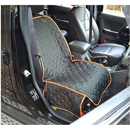 MDSTOP Pet Car Front Seat Cover For Dogs Waterproof Pet Bucket Seat Cover For Cars, Trucks and Suvs, Nonslip Design, 45x20in >>> Want to know more, click on the image.