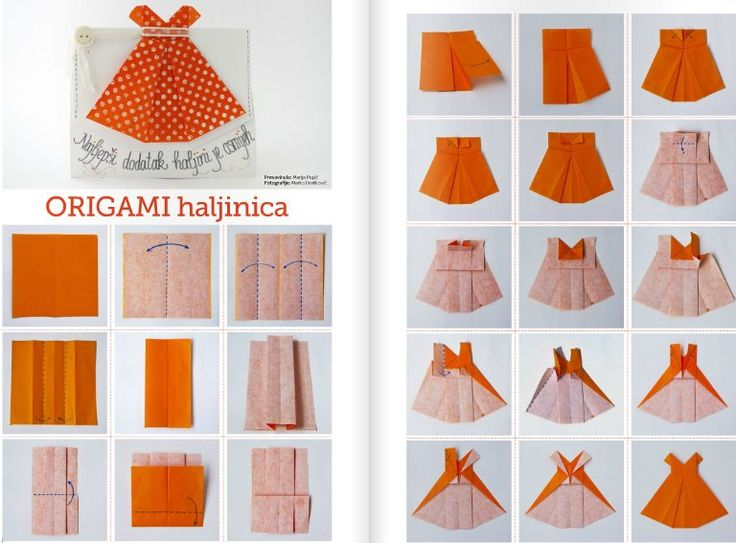 How to make origami girls skirts step by step DIY tutorial instructions, How to, how to do, diy instructions, crafts, do it yourself, diy website, art project ideas- craft group