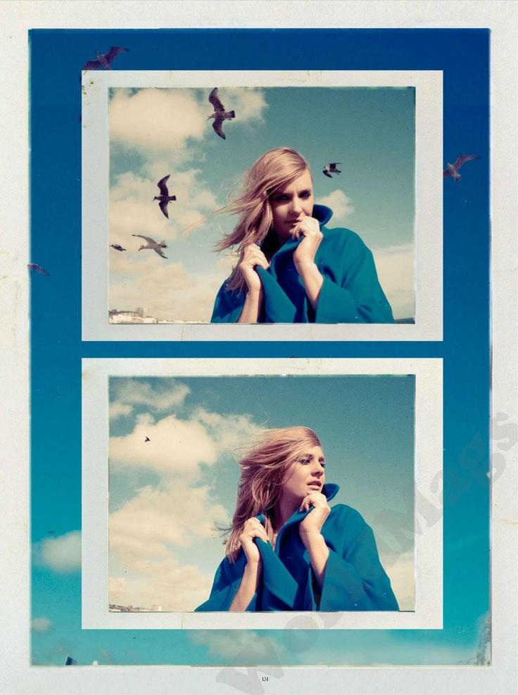 instyle November 2012, Romola Garai, photography by Kristin Vicari