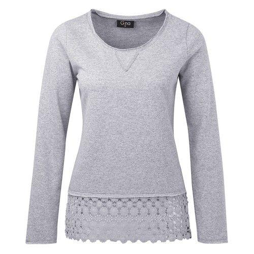 Damen-Sweatshirt von Gina für Damen bei Ernstings family günstig einkaufen