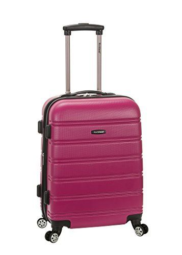 New Trending Luggage: Rockland Melbourne 20 Inch Expandable Abs Carry On Luggage, Magenta, One Size. Rockland Melbourne 20 Inch Expandable Abs Carry On Luggage, Magenta, One Size  Special Offer: Too low to display  400 Reviews This carryon is made of abs. The major benefits of this material – it is extremely lightweight, it is durable, and protects the contents of your luggage....