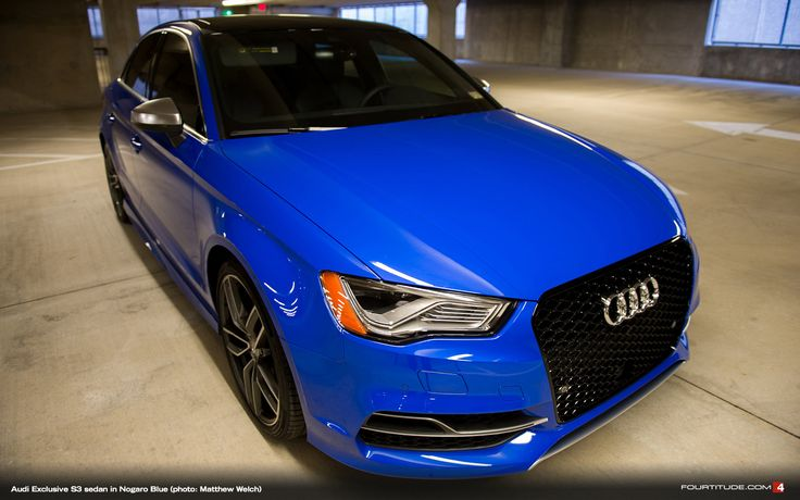 Audi Exclusive S3 Sedan In Nogaro Blue Photo Matthew