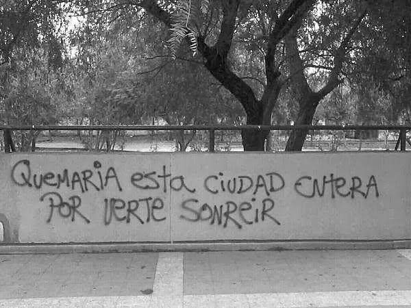 Quemaria esta ciudad entera por verte sonreir  #lavidaesarte #accion