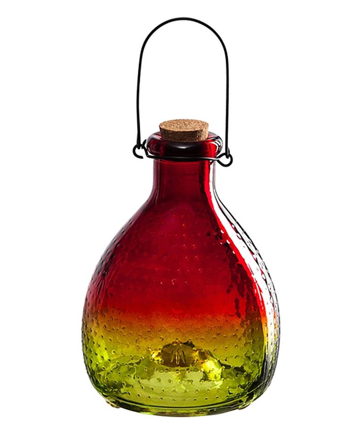 Take a look at this Crimson Red Glass Wasp Catcher today!