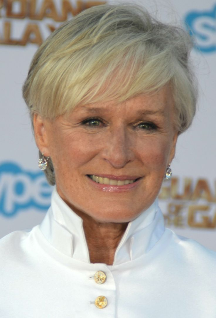 Glenn Close short hairstyle for women over 50