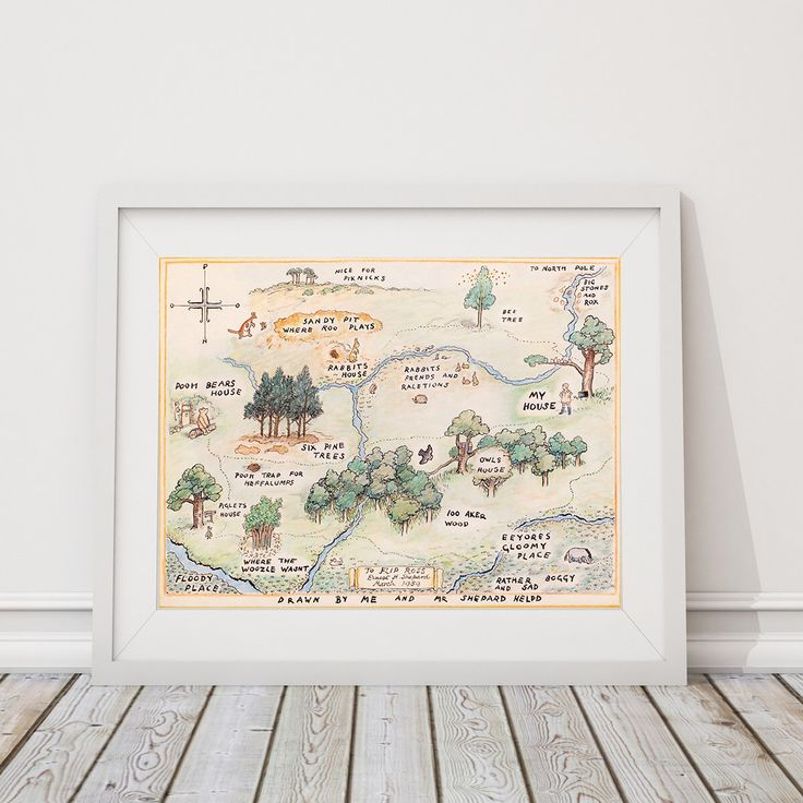100 Acre Wood Map Sign. Classic Winnie the Pooh Nursery. Winnie the Pooh Baby. Wall Art. Wall Decor. Boy Nursery Art. Girl Nursery Art. S481 by RhondavousDesigns2 on Etsy https://www.etsy.com/listing/497027038/100-acre-wood-map-sign-classic-winnie
