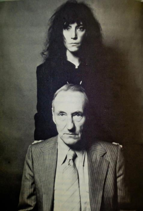 patti smith william burroughs
