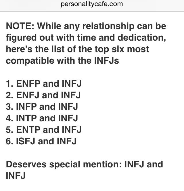 enfp and enfj dating matches