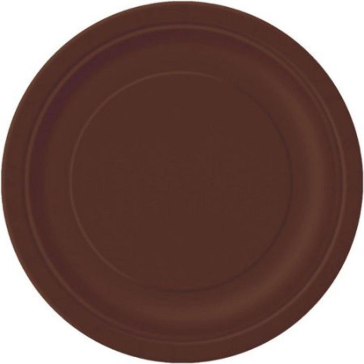 """9"""" Brown Dinner Plates, 16pk - Brought to you by Avarsha.com"""