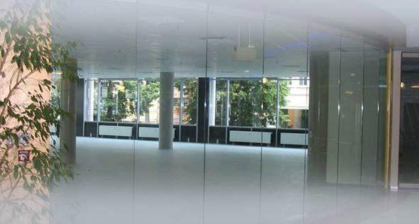 Glasschiebewände, Glasschiebewand, Trennwandsysteme aus Glas