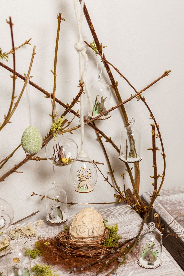 Blooming flowers, beautiful branches - decoration ideas @ Chic Ville