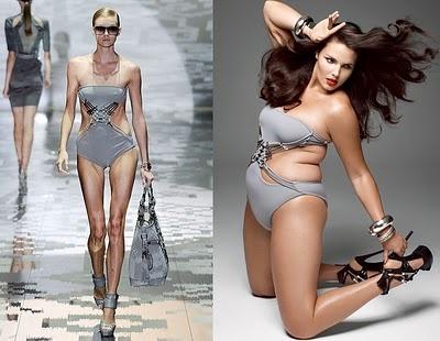 curvy vs skinny women naked