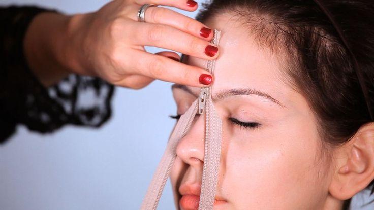 How to Do Zipper Face Using Spirit Gum
