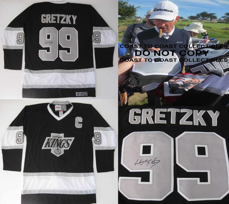 Wayne Gretzky, Los Angeles Kings, LA Kings, Signed, Autographed, Kings Jersey, a COA with the Exact Proof Photo of Wayne Signing the Jersey Will Be Included