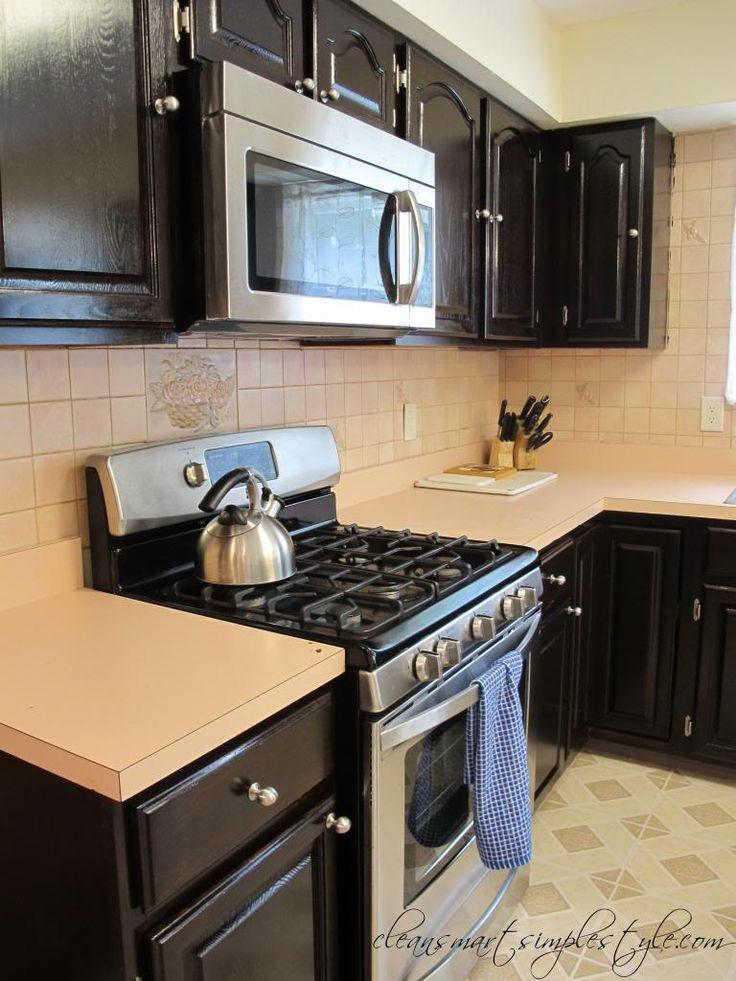 Gel Stain Kitchen Cabinets Espresso - Wow Blog