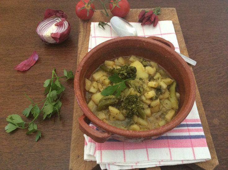Zuppa+di+patate+e+broccoletti