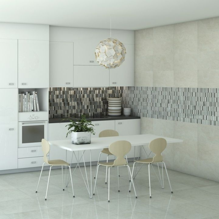 Beautifully stylish taupe, silver and grey mosaic tiles perfect as mosaic bathroom tiles or mosaic kitchen tiles where a luxury finish is desired.