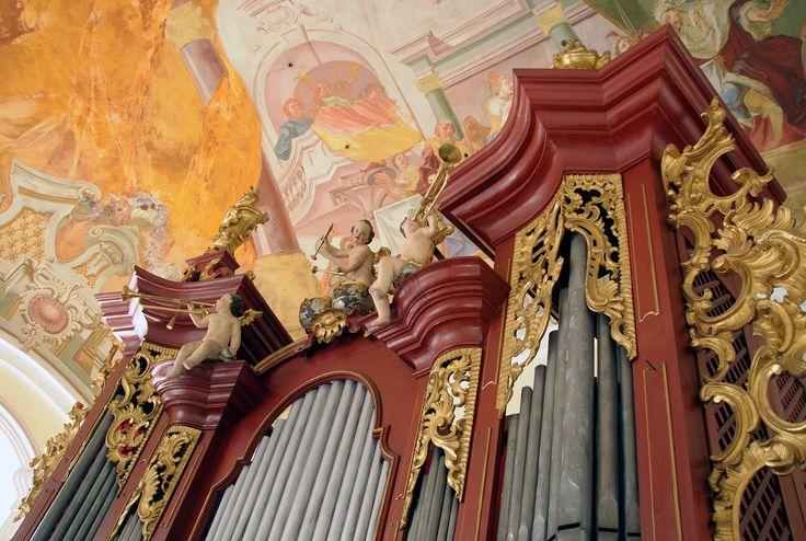 Varhany v kostele Narození sv. Jana Křtitele ve Vraném