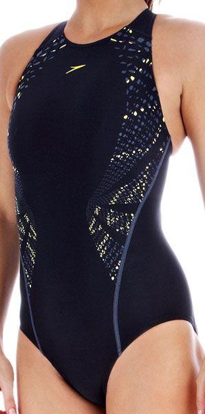 Speedo Fluidaction Placement High Neck. Bañadores Bañadores mujer, precios en Swiminn.com ,natacion