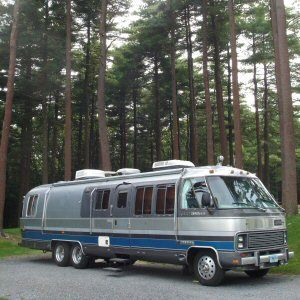 Tales of travel, fun and general mayhem in our classic Airstream Motorhome.