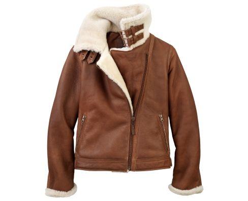 Timberland women's shearling coat