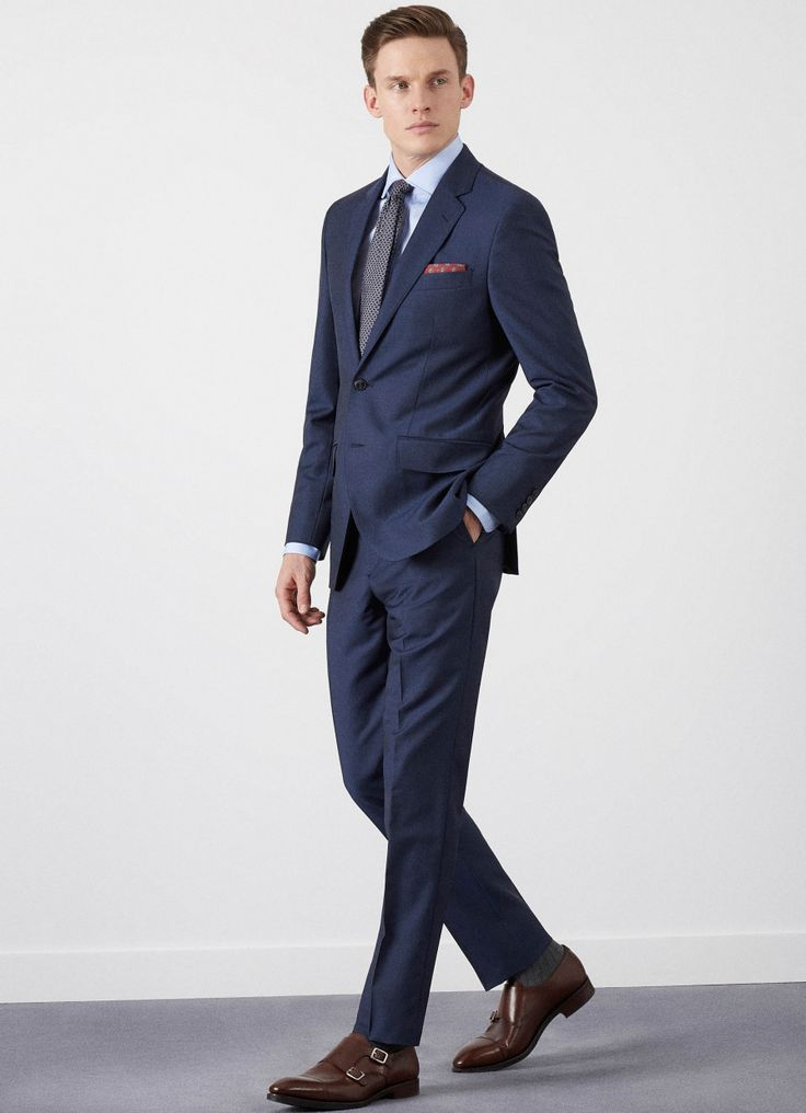 Wool Mohair Suit