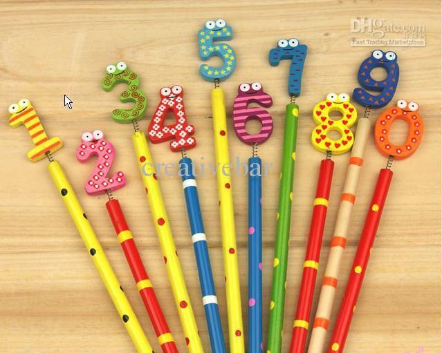 Wholesale Pens & Pencils - Buy *CREATIVEBAR* Student Prizes / Stude Gift / Animals Kingdom Pencil/ Cartoon Pencils /, $0.34 | DHgate